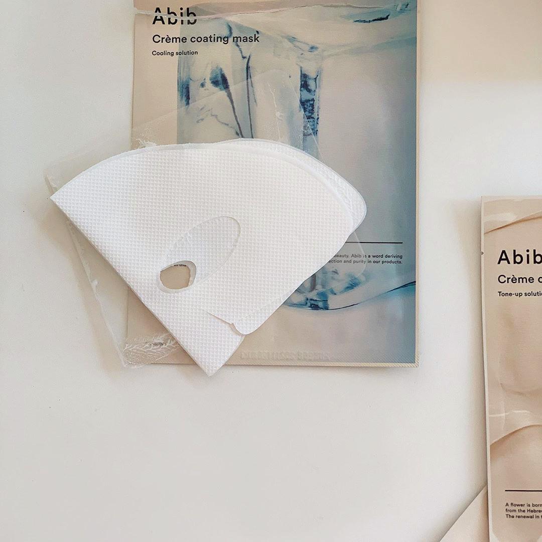 Abib 補水舒緩降溫奶酪面膜