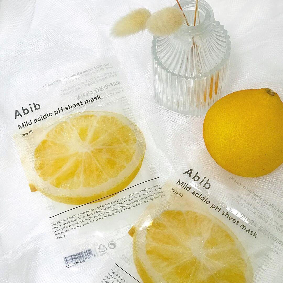 Abib 柚子面膜