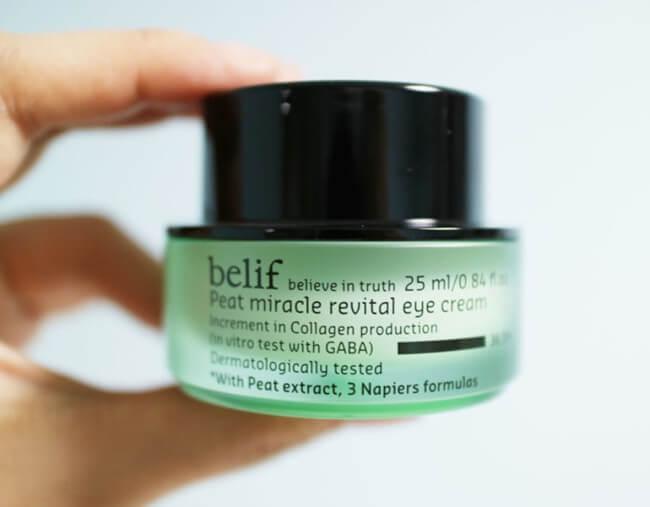 Belif 冰河能量抗皺修護眼霜