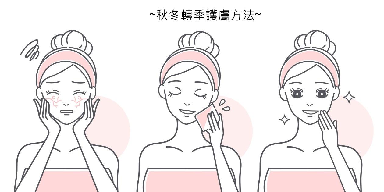 秋冬轉季護膚方法