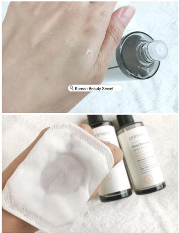 濕敷爽膚水方法