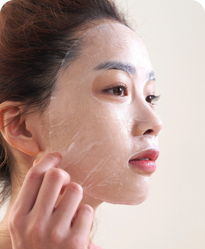 Mamonde 保濕美白面膜使用方法
