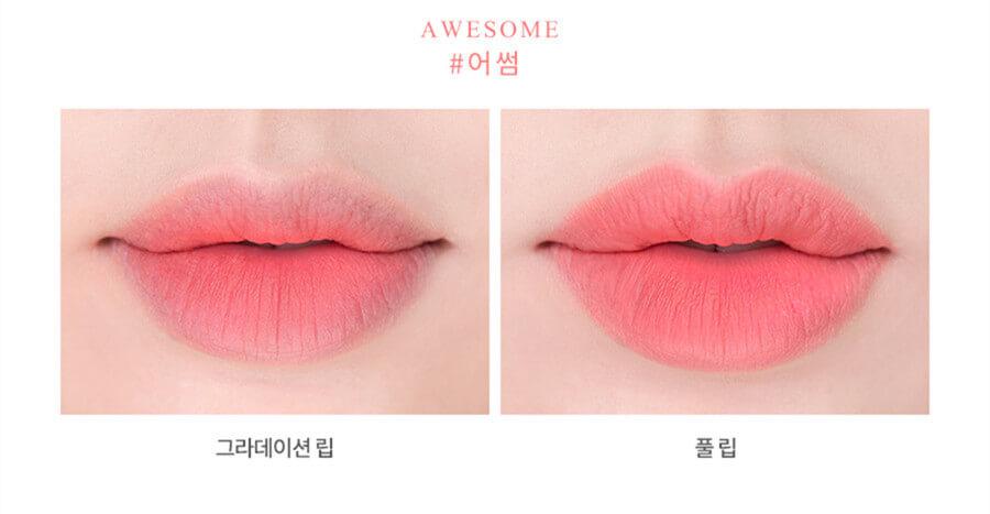 Romand zero gram matte lipstick