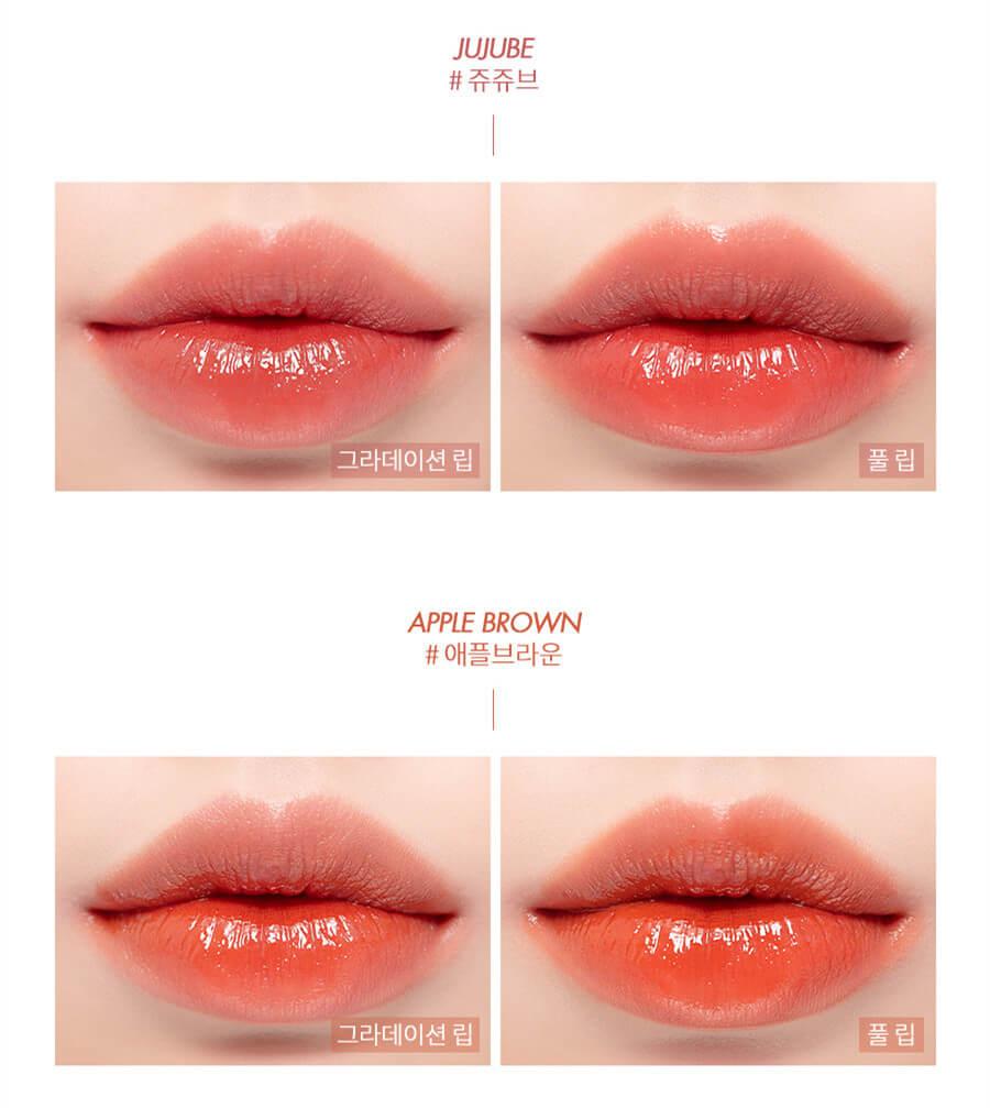 romand lipstick korea