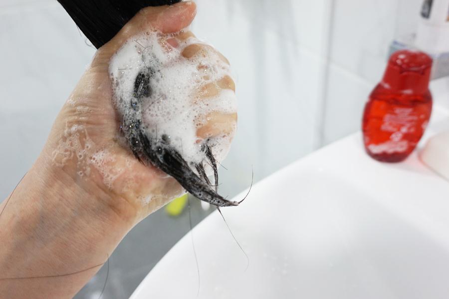 呂高級版天參化紅參防脫髮洗頭水