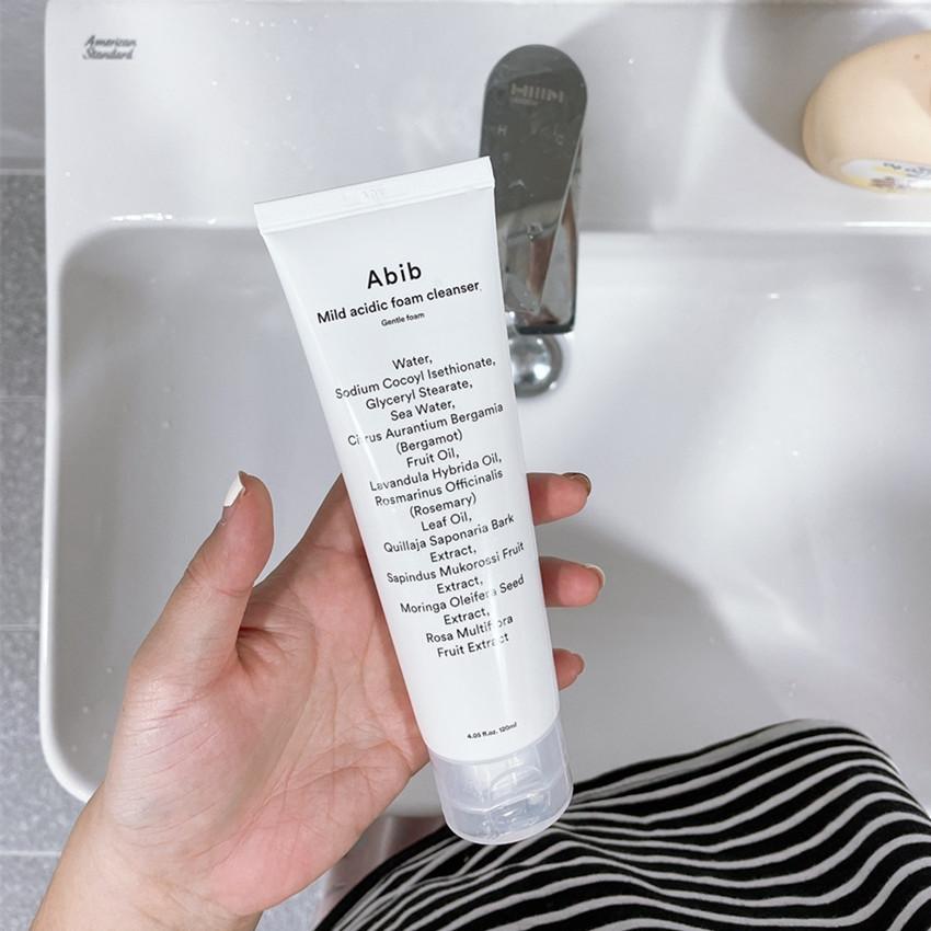 Abib Mild Acidic Foam Cleanser Gentle Foam