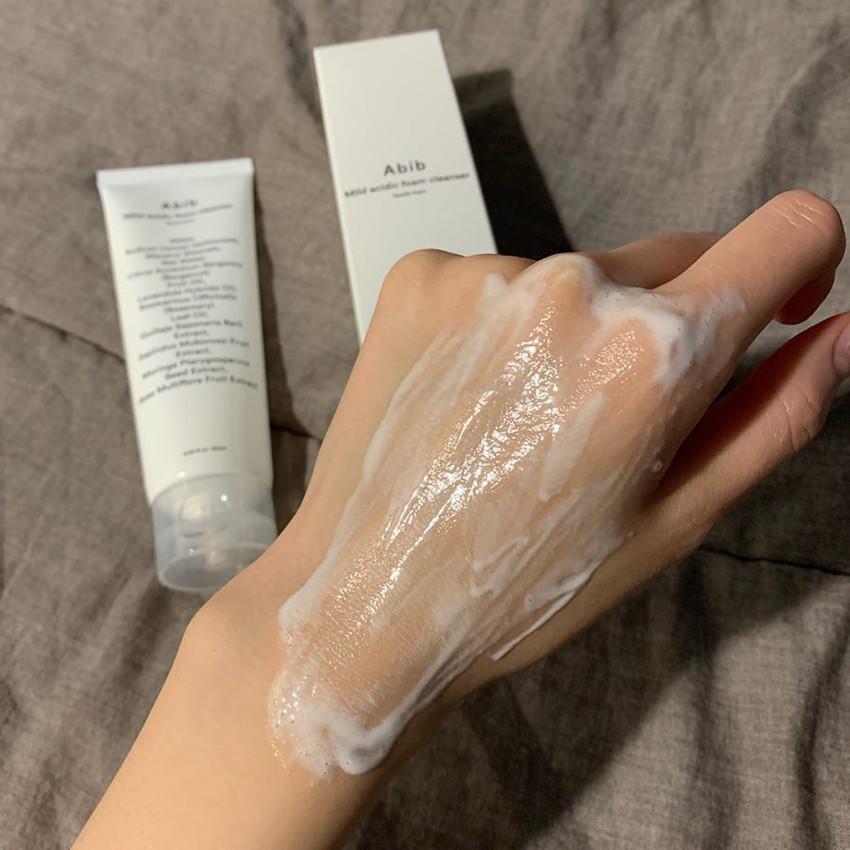Abib 溫和弱酸性潔面乳