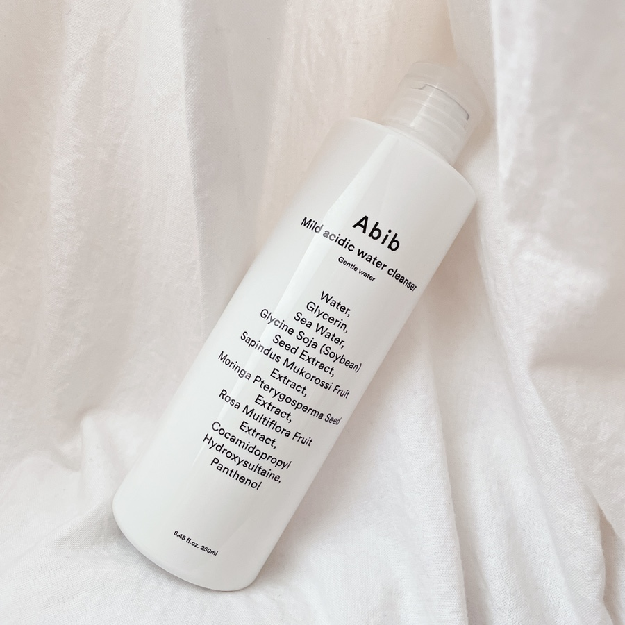 Abib Mild acidic water cleanser Gentle water