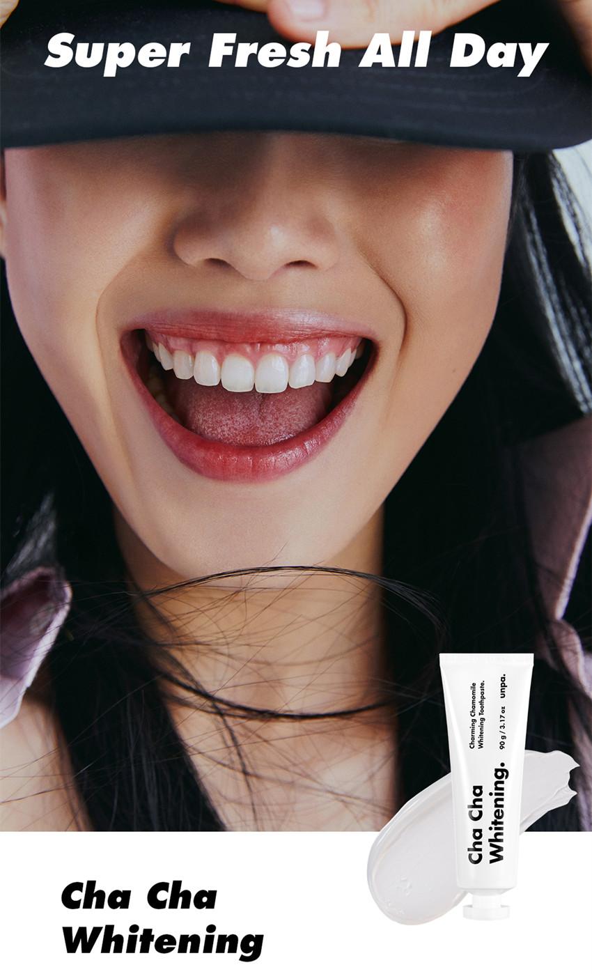 Unpa Cha Cha  Chamomile Whitening Toothpaste