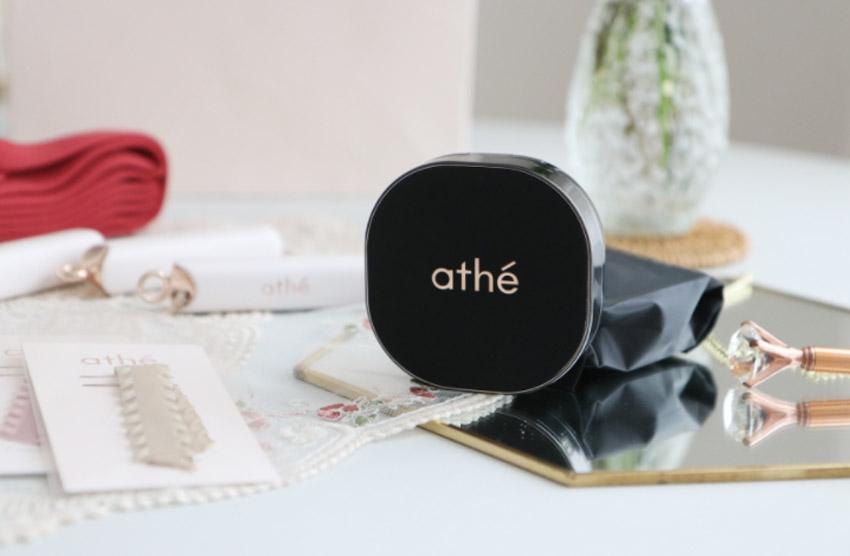 athe 純素精華濾光網狀氣墊粉底