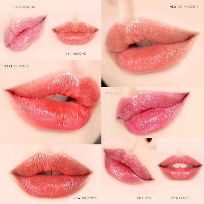 athe Authentic Lip Balm 透亮溫感高保濕潤唇膏