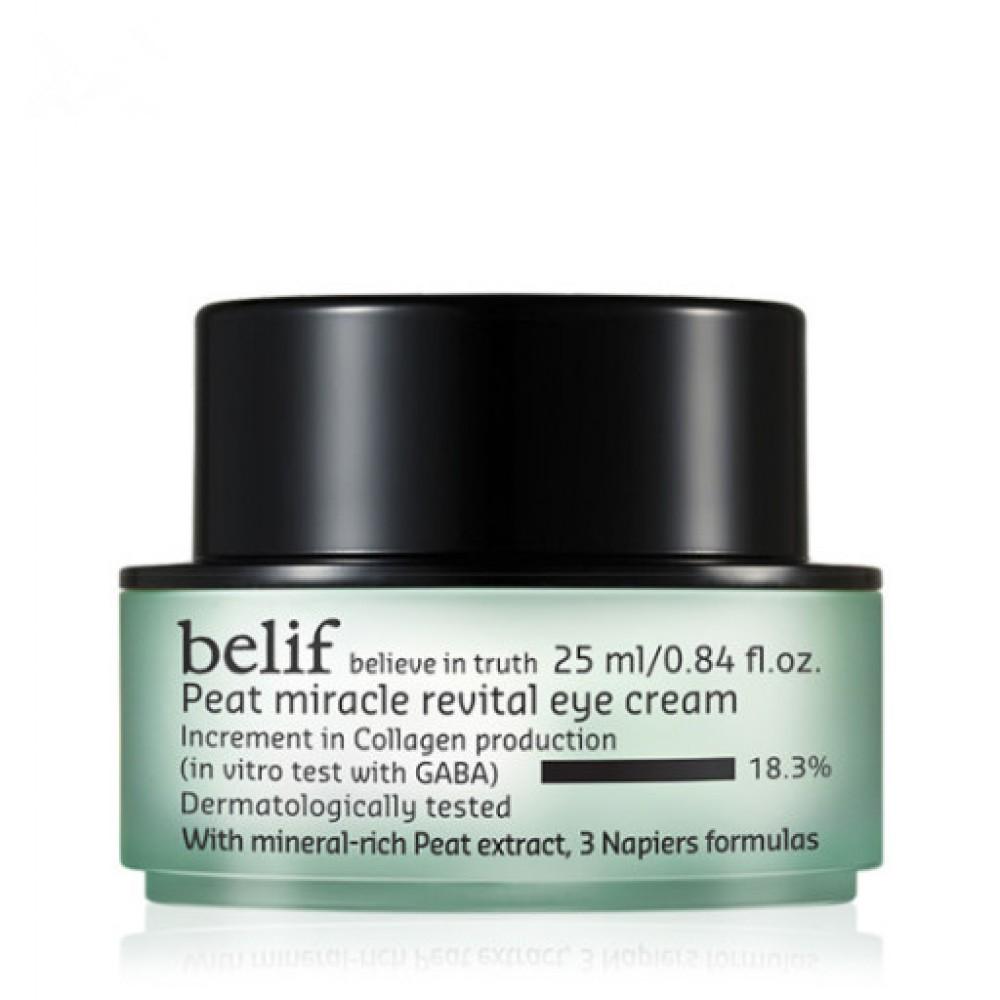 Belif Peat Miracle Revital Eye Cream 冰河能量抗皺修護眼霜