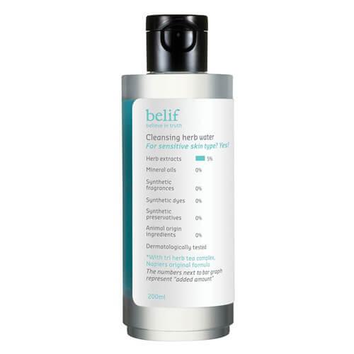 Belif Cleansing Herb Water 草本舒緩保濕潔膚水