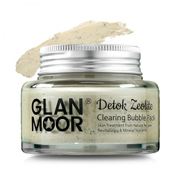 Glan Moor Clearing Bubble Mask Pack 肌膚清道夫沸石排毒泡沫面膜