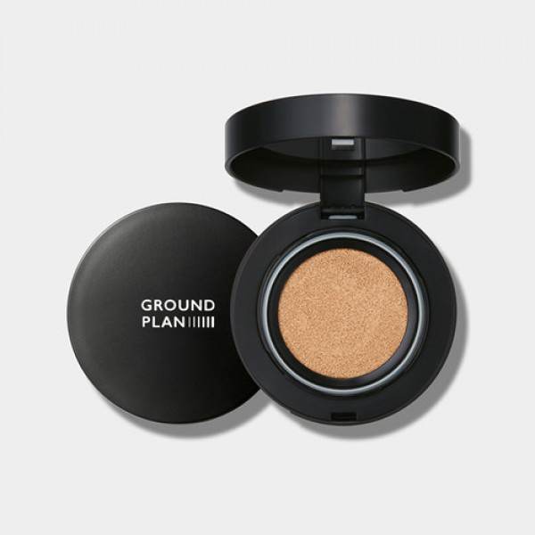 Ground Plan Secret Mist Cushion SPF 30 PA++ 防護強勢保濕無暇氣墊粉底