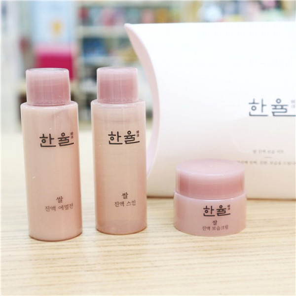 Hanyul Rice Essential Skin Travel Set 韓律大米精華深層保濕3件套裝