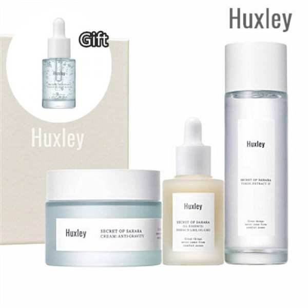 Huxley Anti-Gravity Trio 仙人掌緊緻抗氧修護3件套裝 Firming All Day