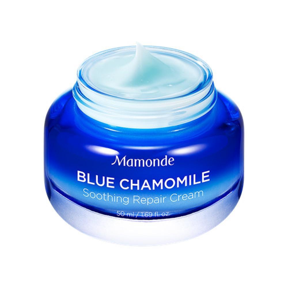 Mamonde Blue Chamomile 藍甘菊舒緩修護清爽面霜