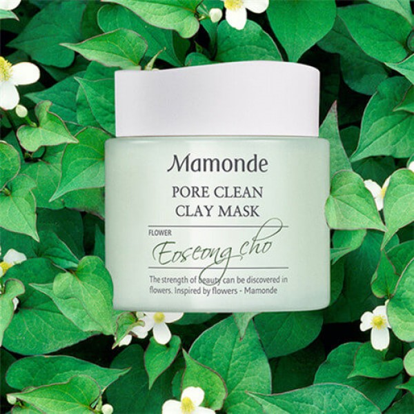 Mamonde Pore Clean CLay Mask 淨化控油收毛孔面膜