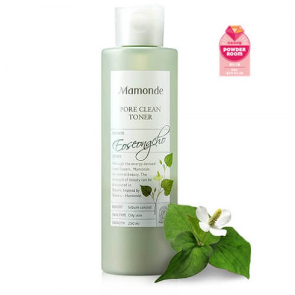 Mamonde Pore Clean Toner 淨化隱形毛孔亮肌爽膚水