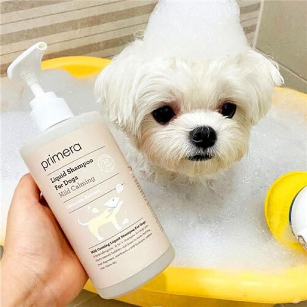 Primera Mild Calming Liquid Shampoo For Dog 天然溫和鎮靜2合1狗狗柔順沐浴露
