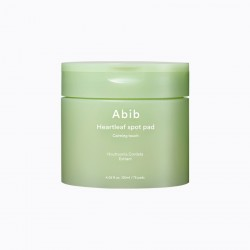 Abib Heartleaf Spot Pad Calming Touch 魚腥草2合1去角質+保濕舒緩護理棉
