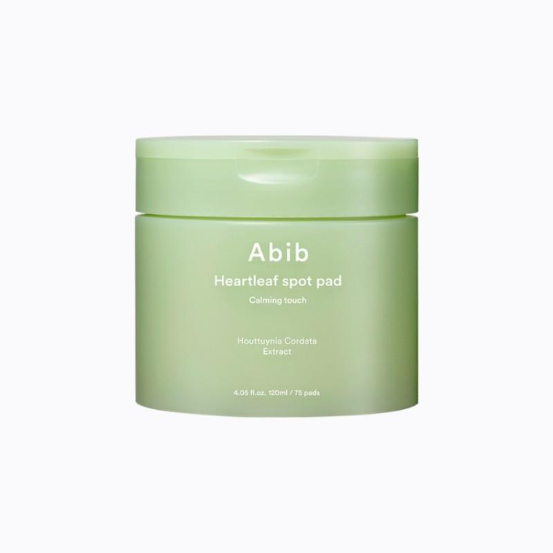 Abib Heartleaf Spot Pad Calming Touch 魚腥草2合1去角質+保濕舒緩護理棉