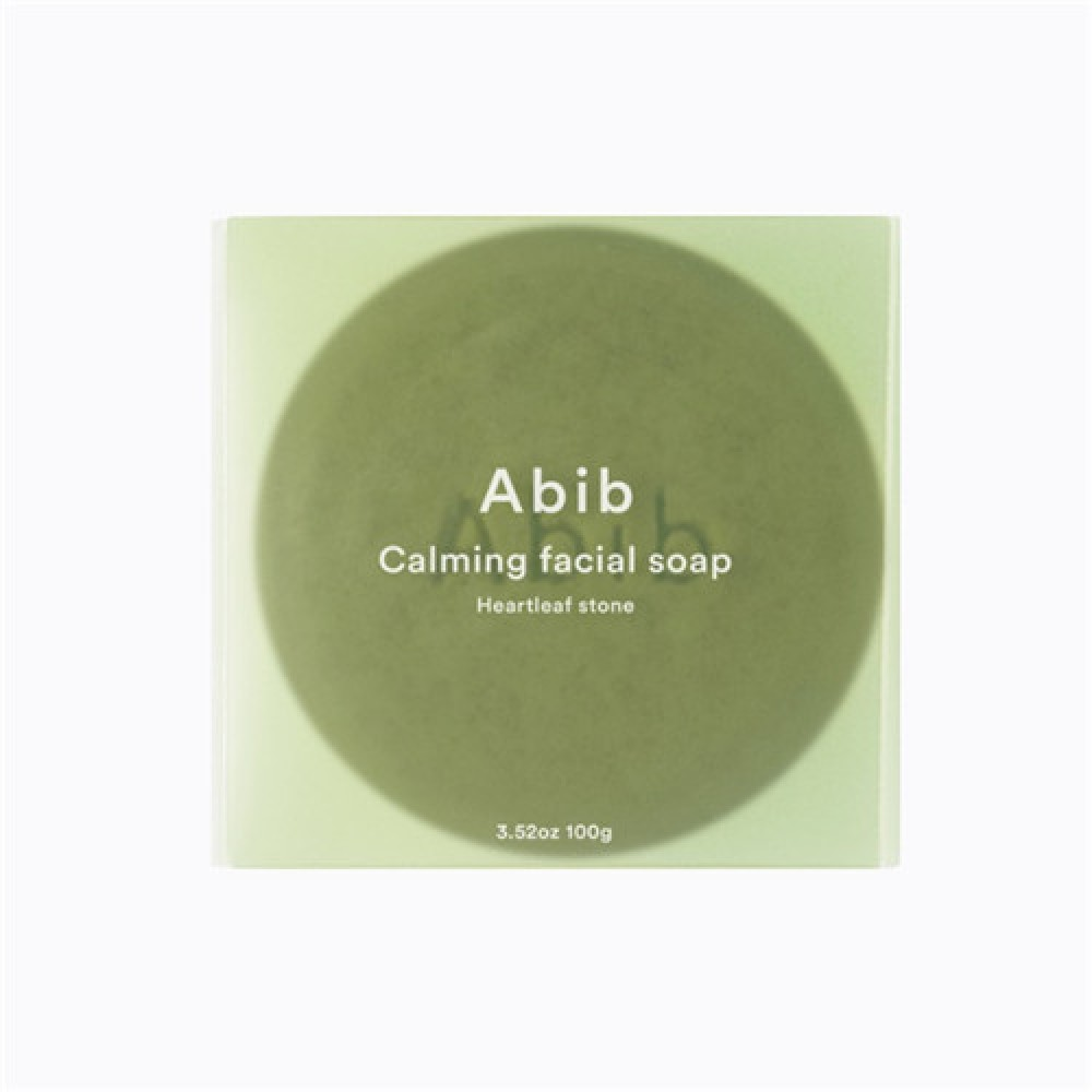 Abib Calming facial soap Heartleaf Stone 魚腥草潔面皂