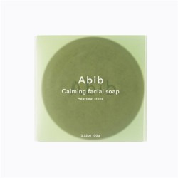 Abib Calming facial soap Heartleaf Stone 魚腥草潔面皂