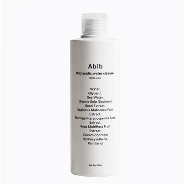 Abib Mild acidic water cleanser Gentle water 溫和弱酸性平衡卸妝水