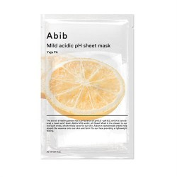 Abib mild acidic pH sheet mask: yuja fit 弱酸性清爽柚子面膜
