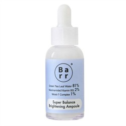 Barr. Super Balance Brightening Ampoule 抗氧平衡亮膚安瓶精華