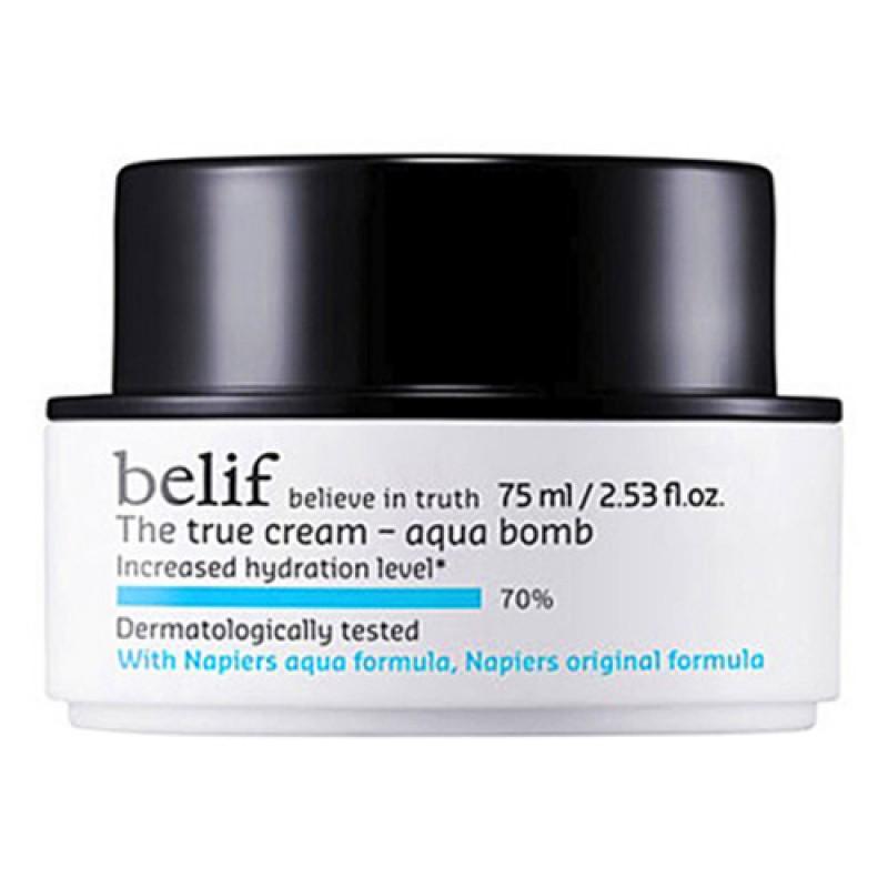 Belif the true cream aqua bomb 斗篷草高效水份保濕炸彈霜 75ml