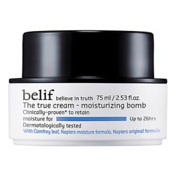 Belif The True Cream Moisturizing Bomb 紫芹26hr潤澤炸彈霜 75ml