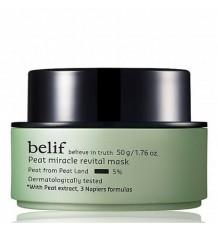 Belif Peat Miracle Revital Mask 冰河能量彈力再生活力面膜