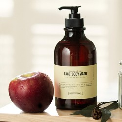 Calmomentree Swiss Herbal Apple Face + Body Wash 2合1瑞士草本蘋果洗面沐浴露