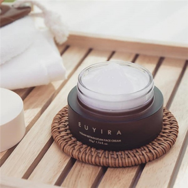 Euyira Vegan Betaglucan Face Cream 完美膚層益生元保濕舒緩霜