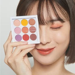 Euyira Eyeshadow Palette 乾淨質感九宮格眼影盤 # COLORFUL NINE