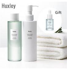Huxley Be Clean Be Moist 系列 : 魔法水感清爽卸妝水 + 潔面透明啫喱