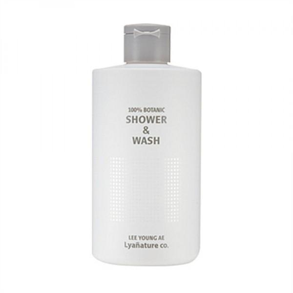 Lyanature Lee Young Ae 100% Botanic Shower & Wash 高效植物抗氧潔膚沐浴露