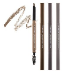 Mamonde Natural Auto Pencil Eyebrow 帶眉刷雙頭自動眉筆