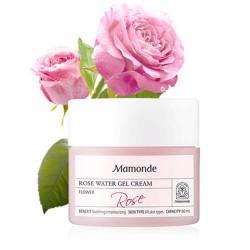 Mamonde Rose Water Gel Cream 玫瑰水保濕美白啫喱面霜