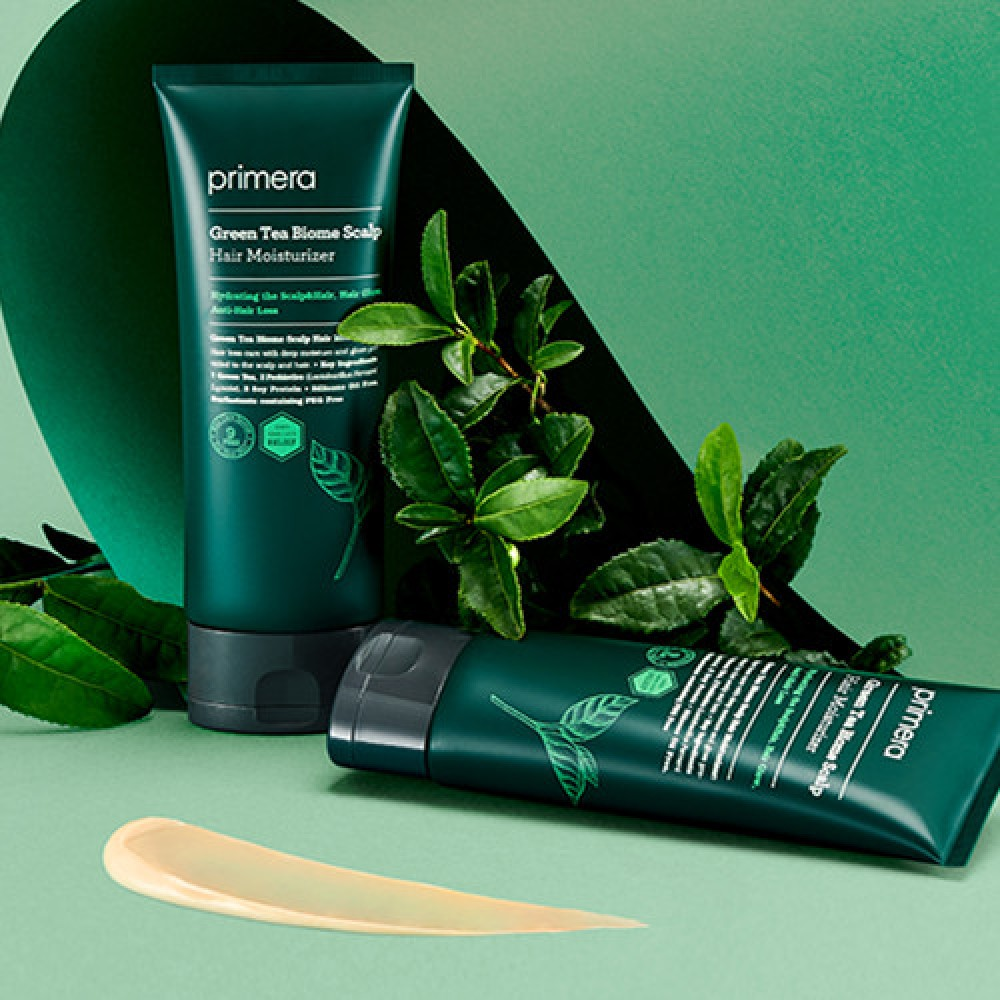 Primera Green Tea Biome Scalp Hair Moisturizer 綠茶保濕潤髮乳