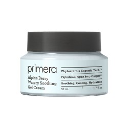 Primera Alpine Berry Watery Soothing Gel Cream 淨肌無油保濕啫喱面霜