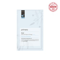 Primera Moist-up Seed and Sprout Energy Mask 保濕抗氧化鎖水有機純棉面膜