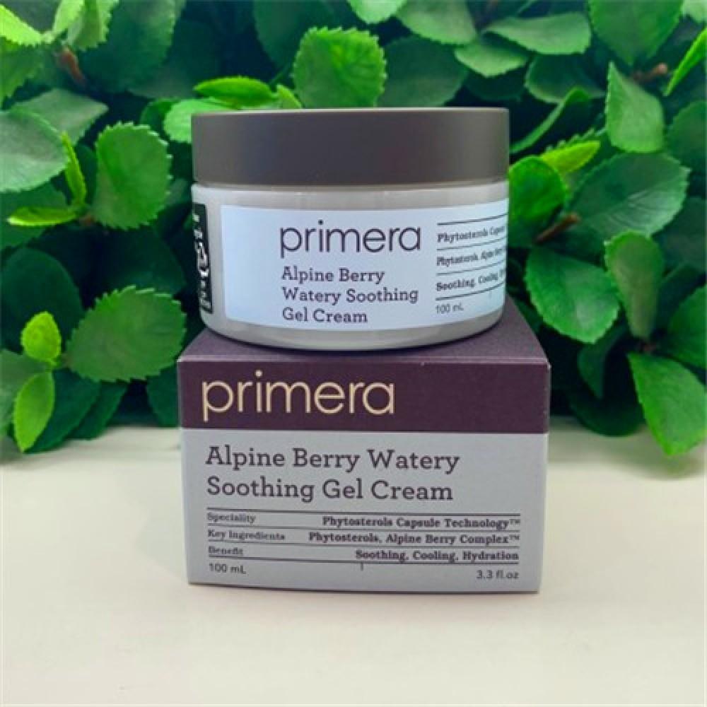 Primera Alpine Berry Watery Soothing Gel Cream (2021新版) 淨肌無油保濕啫喱面霜 100ml