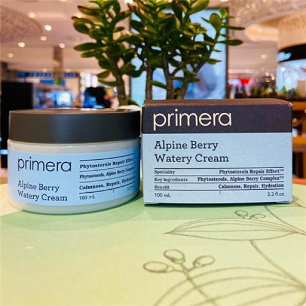 Primera Alpine Berry Watery Cream ( 2021新版)  最強保濕面霜 100ml