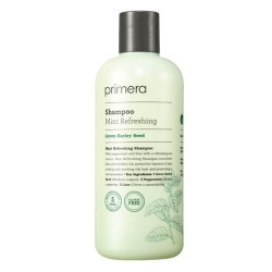 Primera Mint Refreshing Shampoo 薄荷清新潔淨洗頭水♥ 無硫酸鹽配方