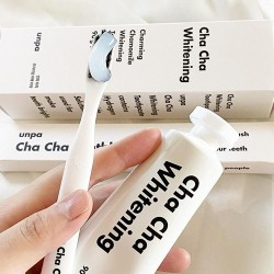 UNPA CHA CHA Charming Chamomile Whitening Toothpaste 白色洋甘菊美白牙膏 90g