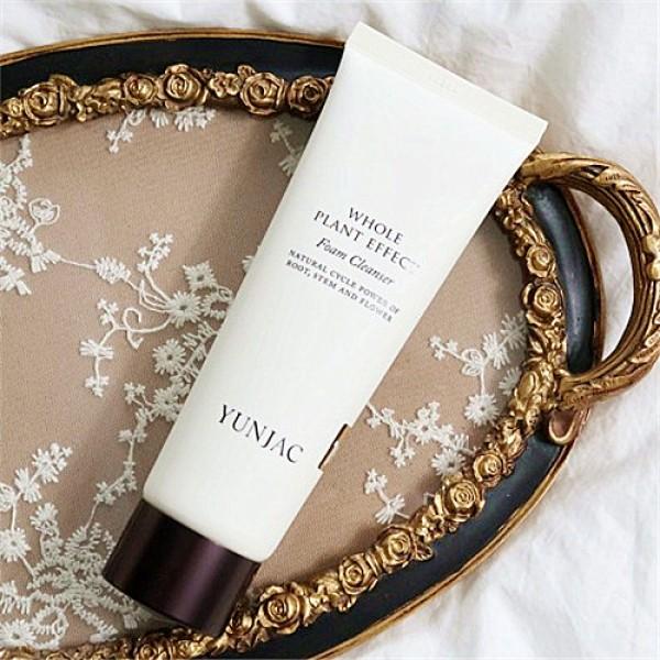 Yunjac Whole Plant Effect Foam Cleanser 綠茶抗氧化去黃洗面奶